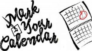 Reminders – October 4th