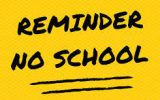 Reminder – Instructional Day Friday May 14th